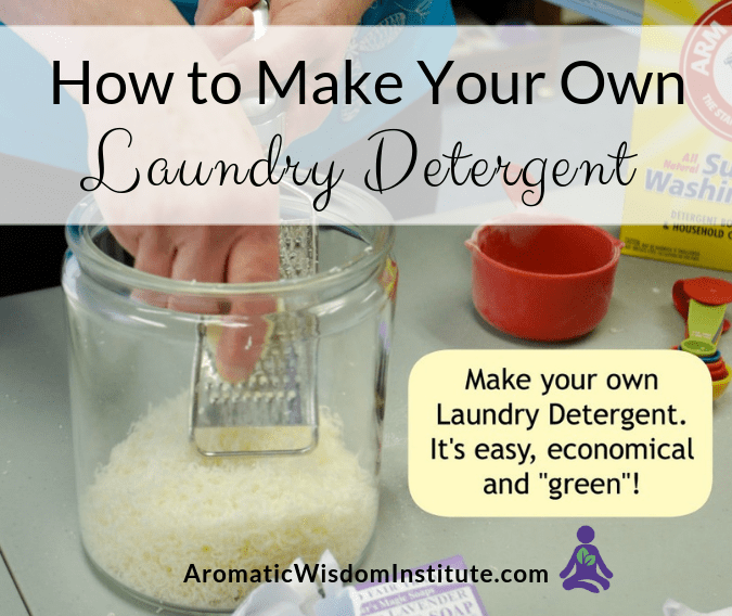DIY All-Natural Laundry Detergent