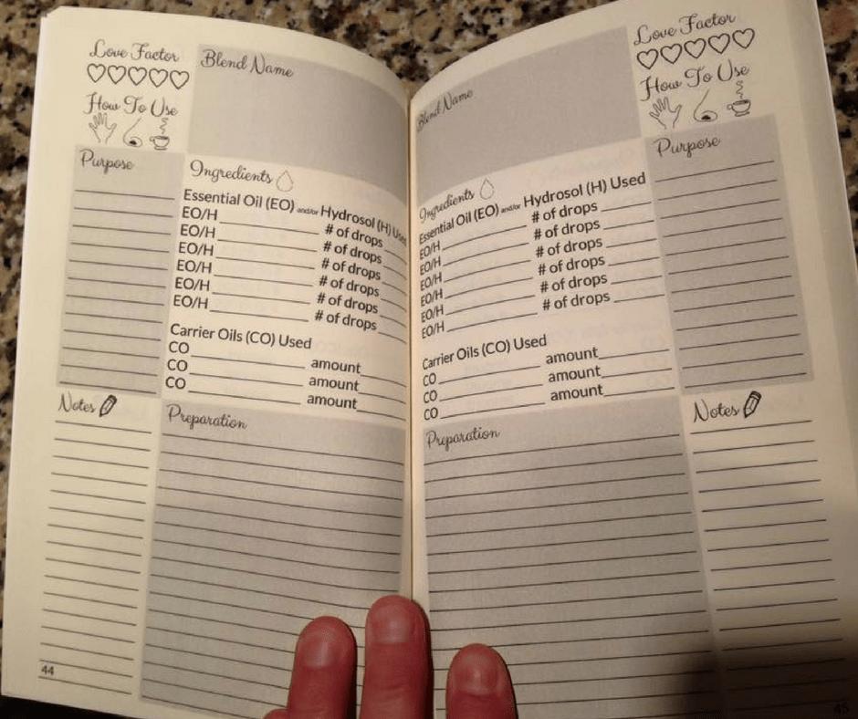 book of blends interior