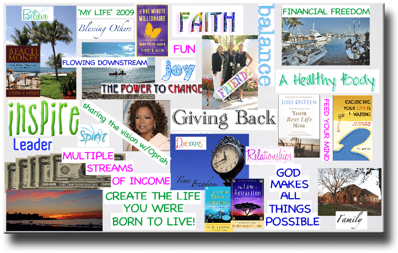 Manifest Your Aromatherapy Goals and Dreams with a Vision Board!