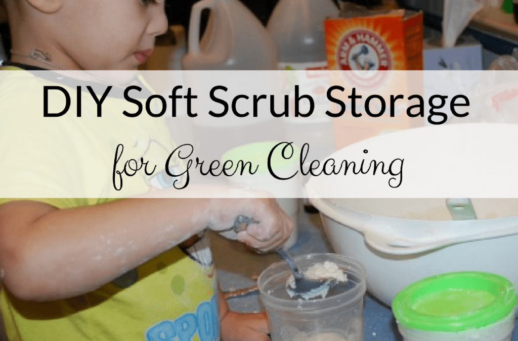 DIY Natural Soft Scrub for Green Cleaning