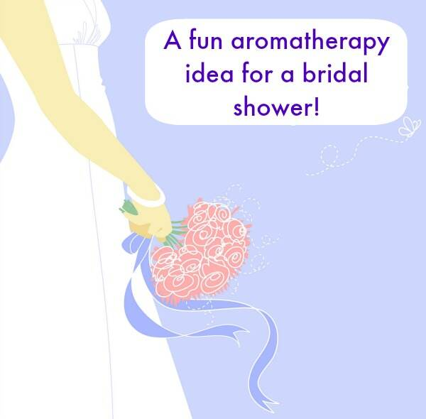 Bridal Shower Idea: Aromatherapy Station!