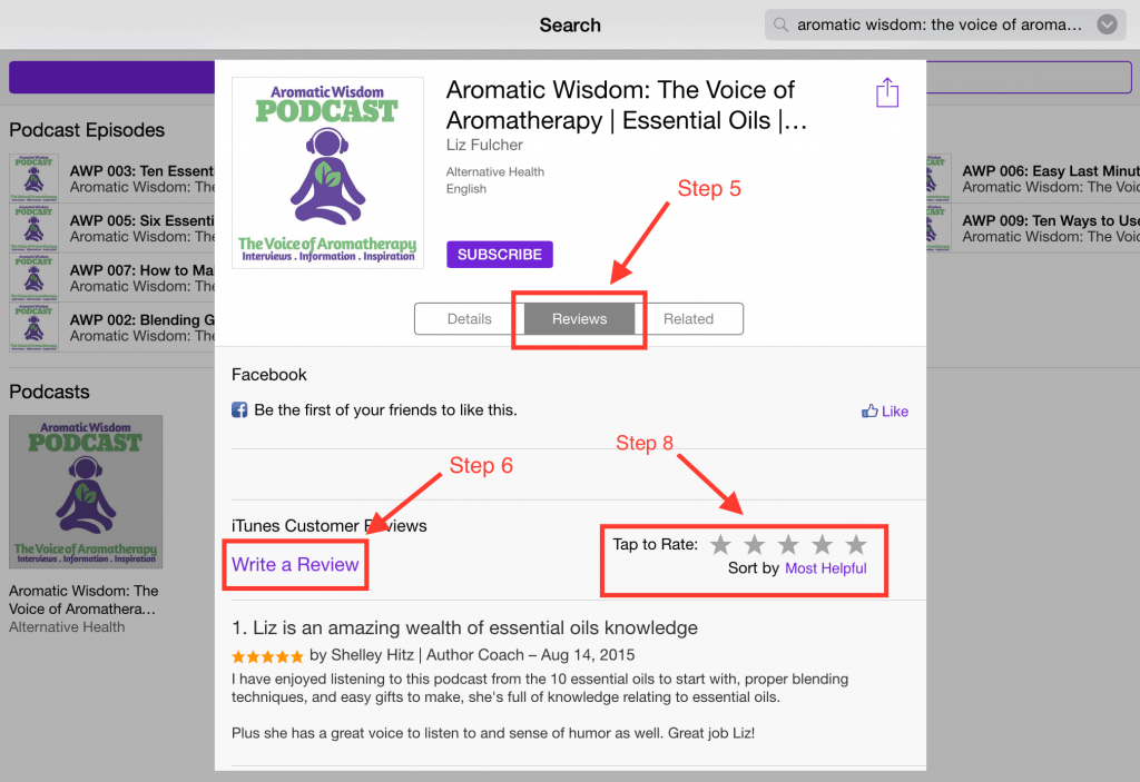 aromatic-wisdom-podcast-ipad-write-review-2