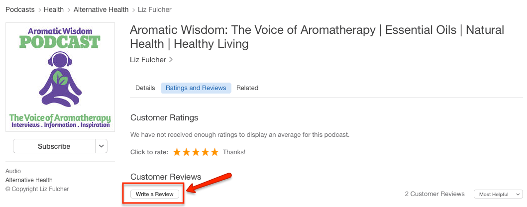 aromatic-wisdom-podcast-itunes-write-review