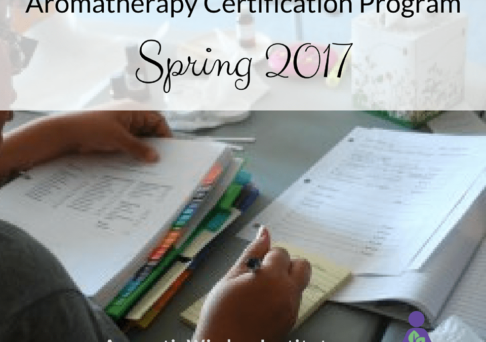 Aromatherapy Certification Program – Study with Liz Fulcher