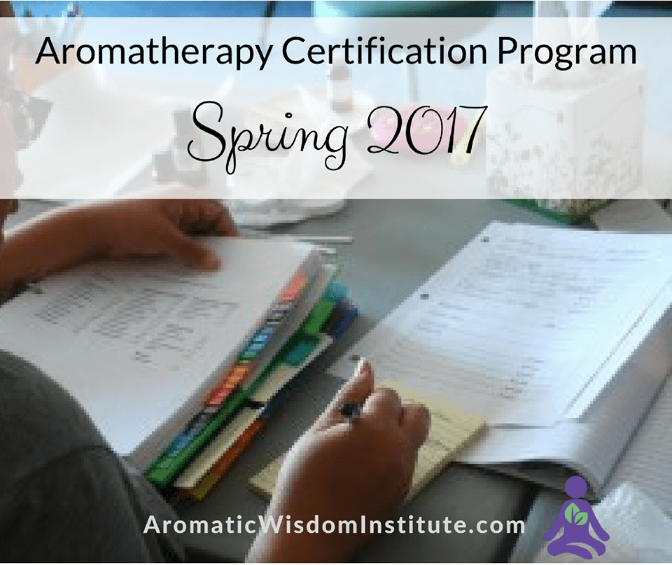 Aromatherapy Certification Program Study With Liz Fulcher