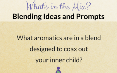 What's in the Mix? What aromatics coax out your inner child?